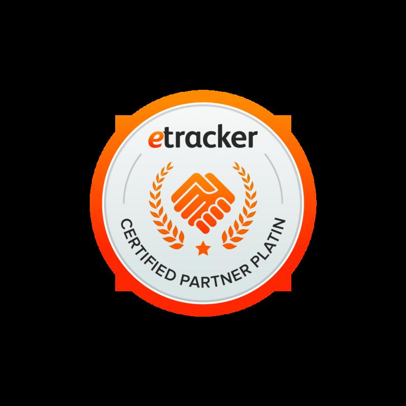 etracker Platin Partner Zertifizierung 2015